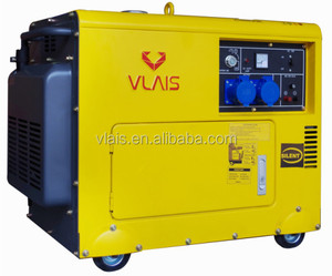 VLAIS KDE3500T diesel generators, 3kw diesel silent generator for home use