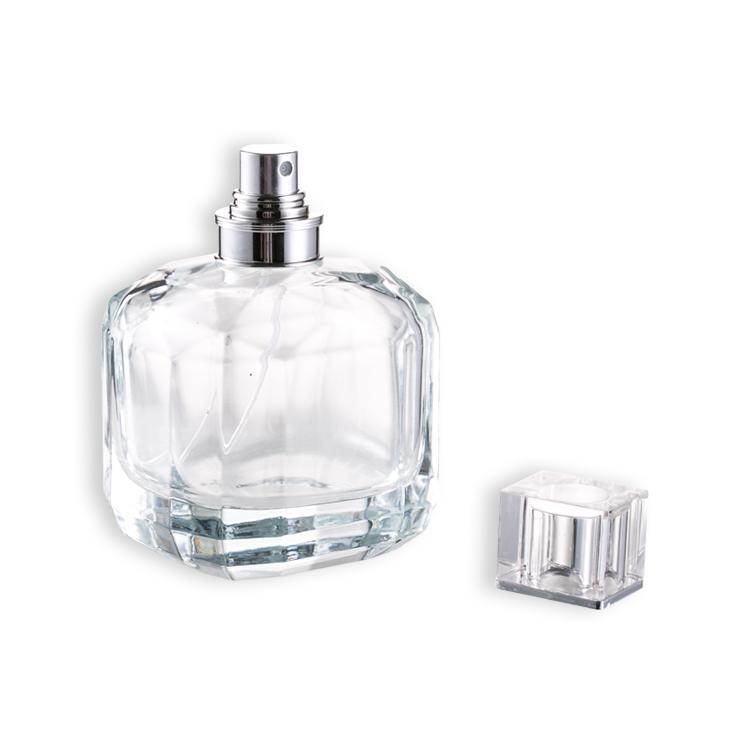 100 Ml Nizza Spray Glasduftstoff flasche Mit Acryl Cap Buy Glas Parfüm flasche,Schönes Parfüm flasche Glas,Spray Parfüm Flasche Product on