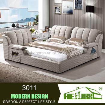 3011 # De Lujo Sofá Moderno Loft Cama Muebles Modernos Con Estante ...