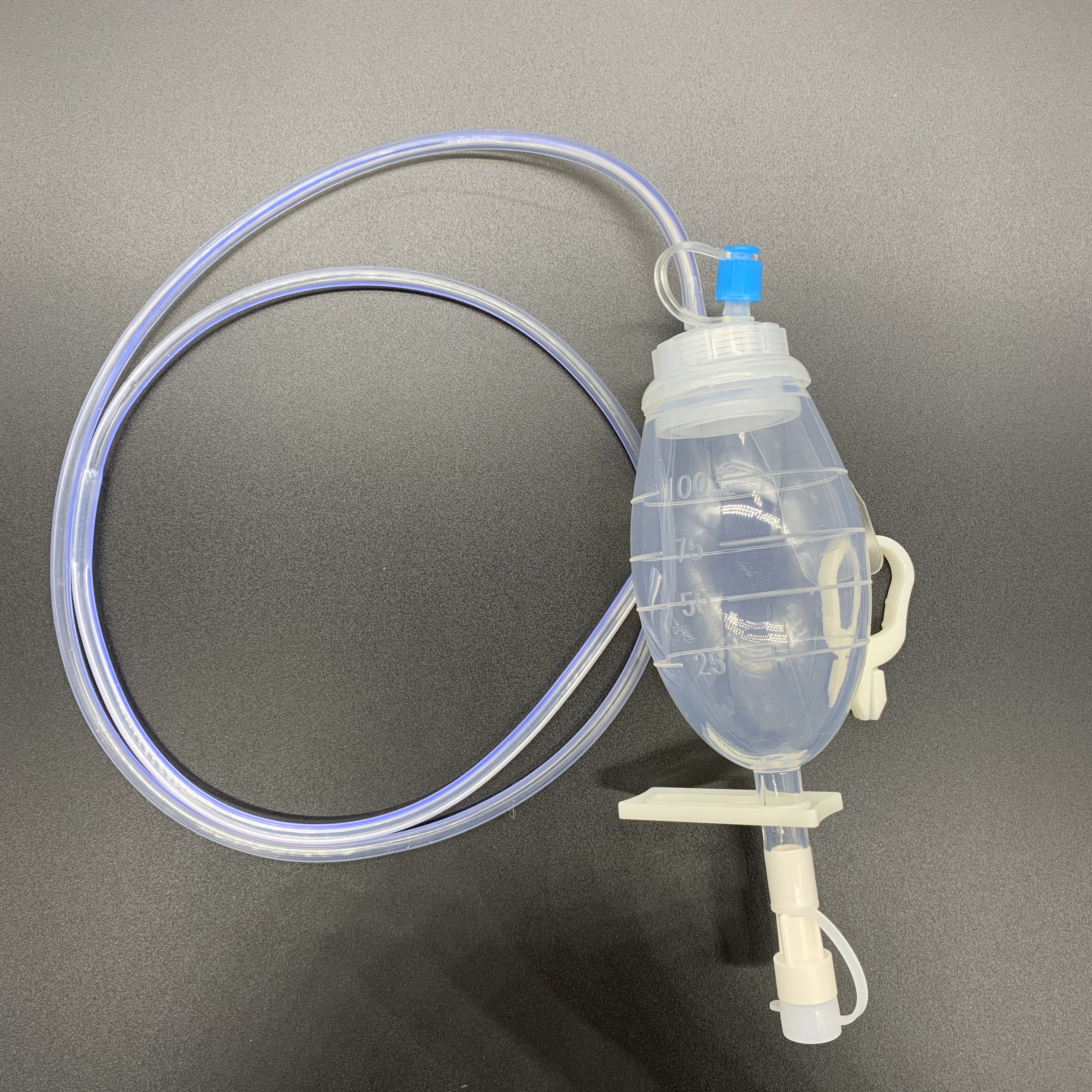 silicone reservoir disposable silicone drainage tube