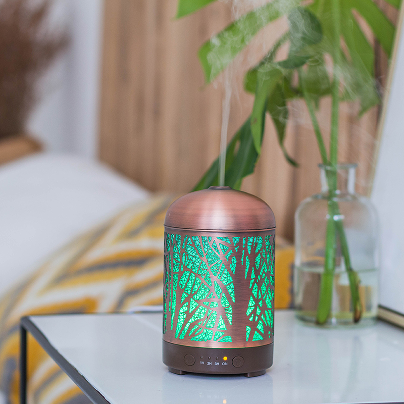 High quality pineapple shape aroma diffuser electric incense metal oil diffuser india