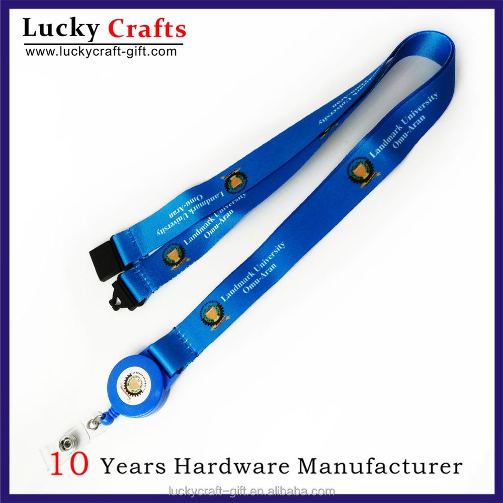 Make Your Own Badge Reel Lanyard Neck Strap