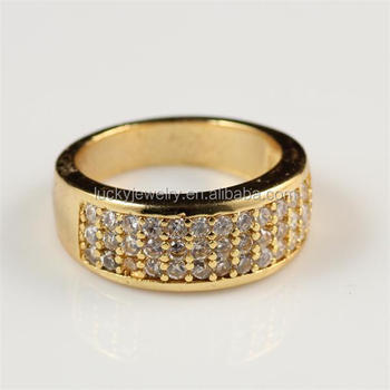 Cheaper Price Men Boy Diamond Ring Fashion Ring Gold Finger Ring