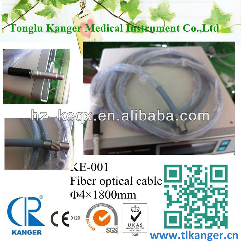 Endoscopic optical cable light conducting fiber cable for endoscopes Medical fiber optical cable