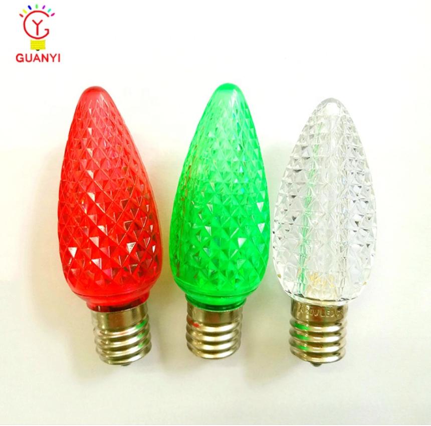 Ul Listed Wider Lighting C9 Led Christmas Lights Faceted Bulbs Buy C9 Christmas Light Bulb Holiday Decorative Lighting Led Bulb Christmas Colorful