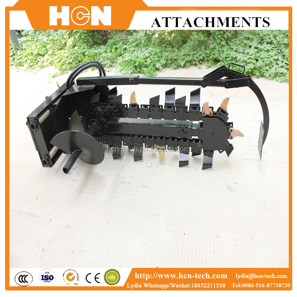 HCN 0207 micro trenching machine for optical fiber cable