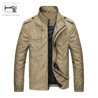 Fashionable spring and autumn Jacket Tops Casual Coat Fashion Mens Slim Collar Jackets