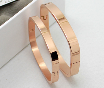 Whole Inspirational Jewelry 316l Stainless Steel Cube Square Handcuff Bracelets Gold Bangles For S Women