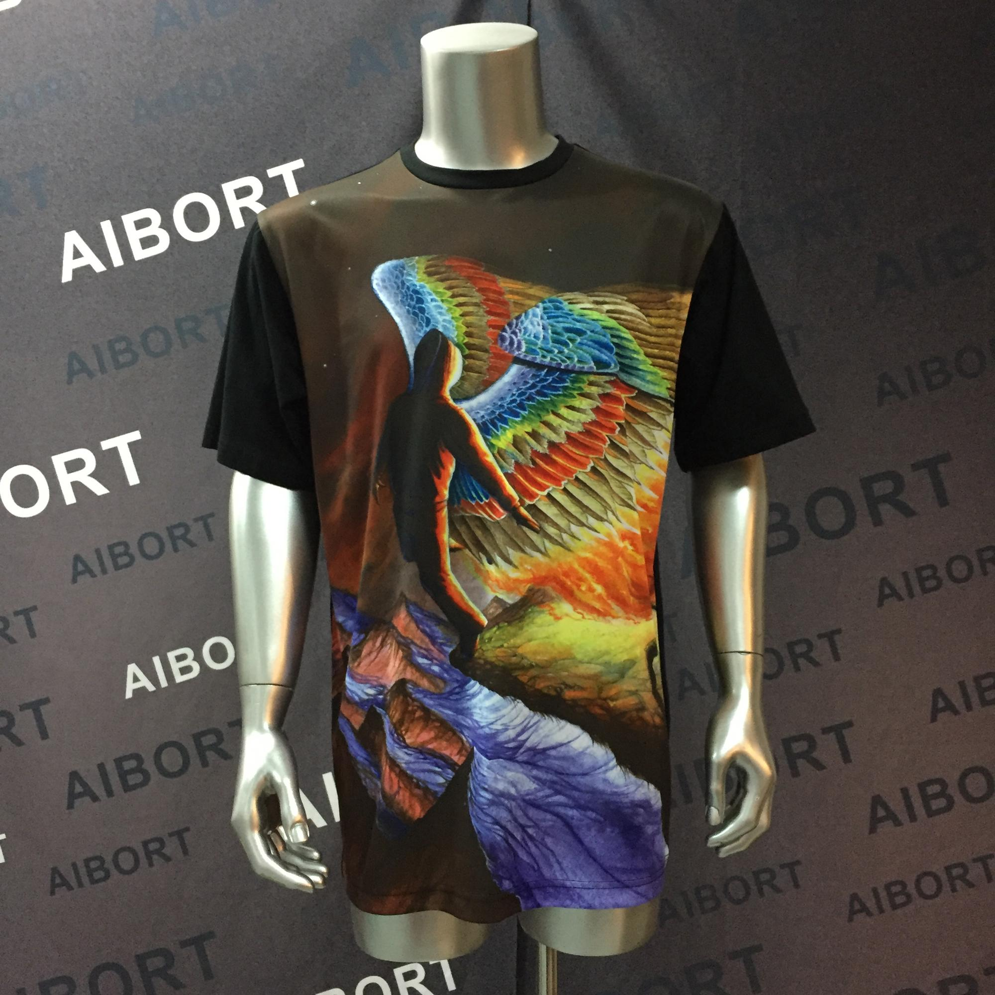 Hot sales customized street wear sublimation tee shirts