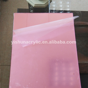 Rose Gold Color Plastic Mirror Acrylic Sheet For Advertising Decoration -  Buy Rose Gold Mirror Acrylic Sheet,Rose Gold Acrylic Mirror Sheet,Rose Gold