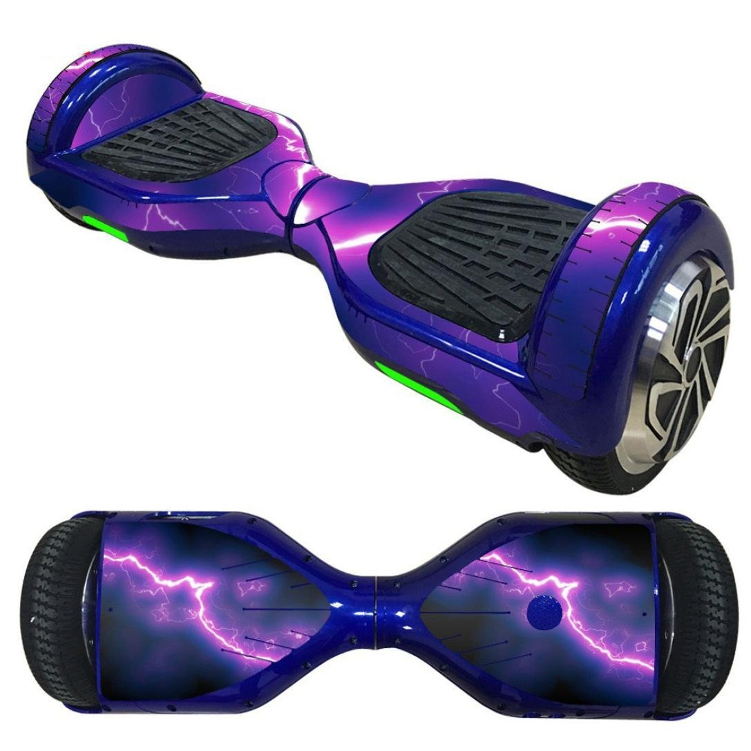 Sandistore Protective Vinyl Skin Decal for 6.5in Self Balancing Scooter Hoverboard 2 Wheels