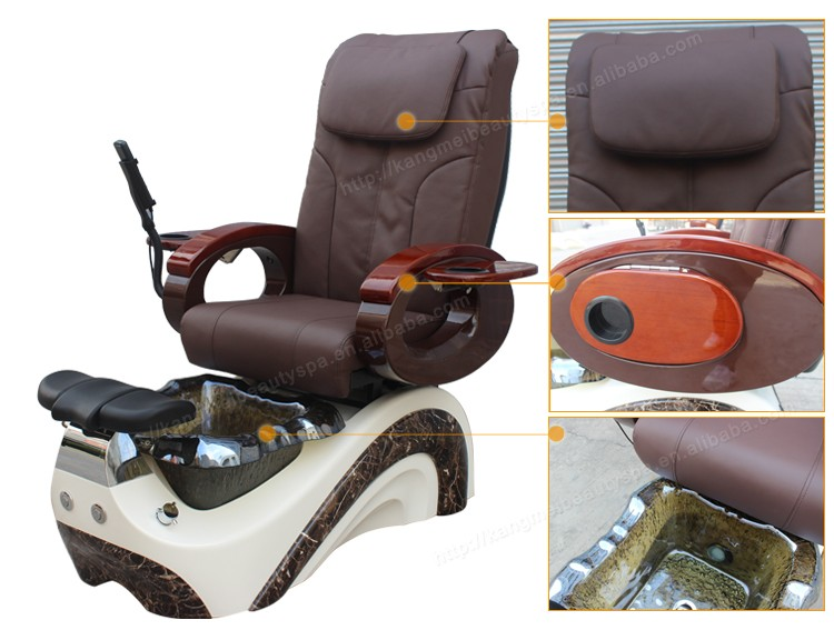 Luxury nail salon foot spa  queen manicure  pedicure spa chair with massage no pluming (S822-3)