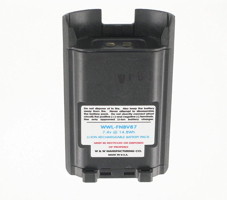 Guanshan FNB-V87 7.4V 2600mAh Li-ion Battery for Vertex Standard VX-581 VX-582 VX-820 VX-821 VX-824 VX-829 VX-920 VX-921 VX-924 VX-929 Radio