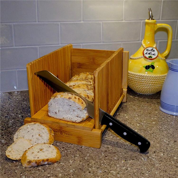 Hot-sale-organic-bamboo-foldable-bread-slicer