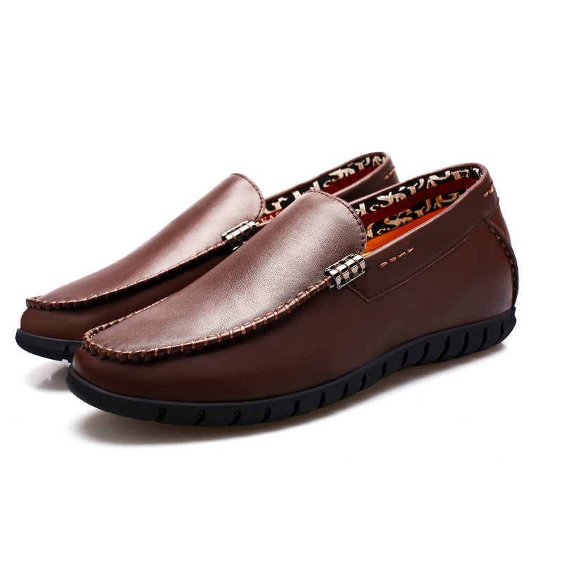 leather soft mens Comfortable shoes footwear italian 5q8IIt
