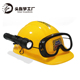 Plastic Construction kids led Hat cheap china outdoor hiking camping equipment