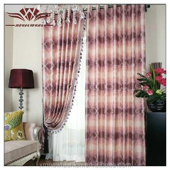 Salon Rideau Tissu,Tissu Pour Rideaux,Oriental Rideau Tissu - Buy ...