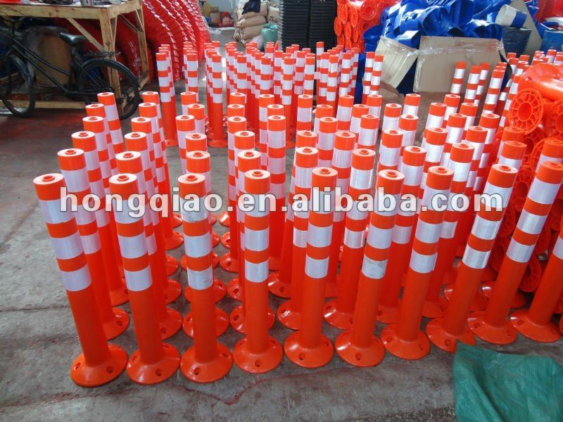 road safety flexible posts