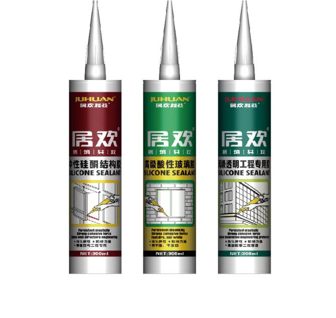 JUHUAN neutral cure silicone sealant for construction good quality adhesive