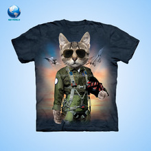 factory custom All Over Sublimation Printing T-shirts/Dye Sublimation T Shirt printing Wholesale