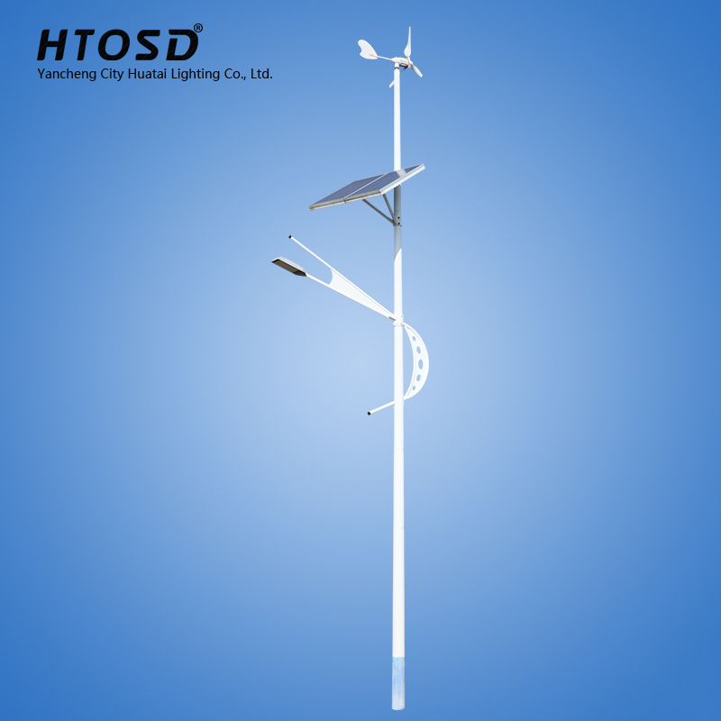 Hot wind solar hybrid street light street light solar