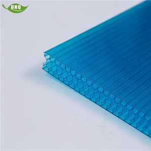 Fine Light Transmission China Honeycomb Polycarbonate Sheet Used Commercial Greenhouse
