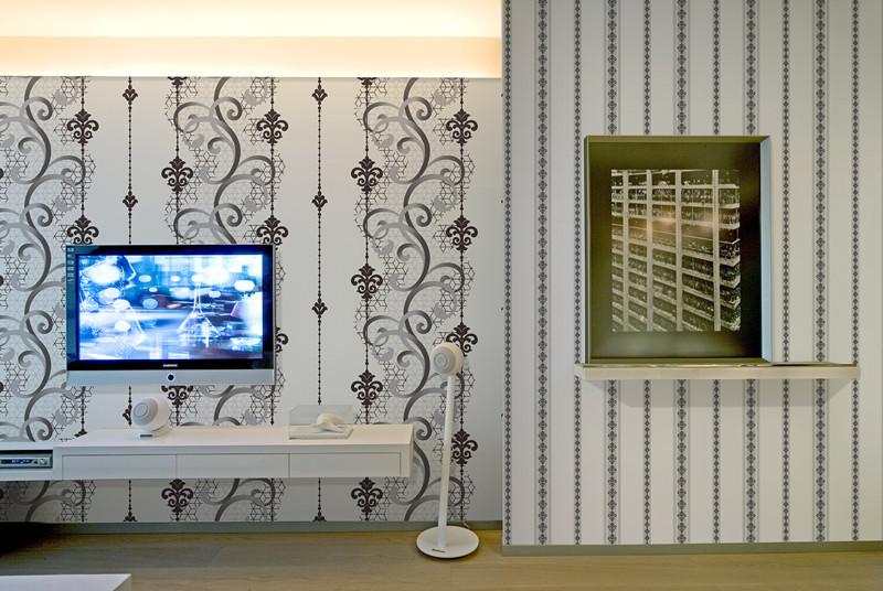 SPN 16022 Interior Wall Design Material, Living Room Wallpaper