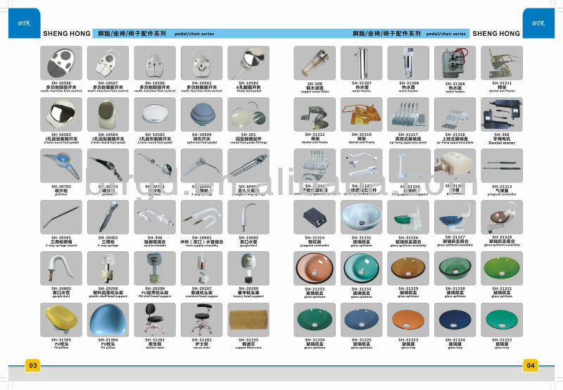 Manufacturing For Dental Unit Medical Equipment Names