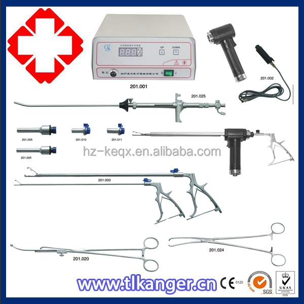 2017 morcellator set, Electric gynaecology device set, surgical Uterus cutting Morcellator