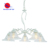 White mix silver painting classical indoor chain chandelier