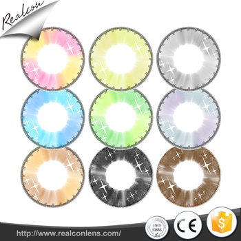 Custom-made OEM new design colored contact lens