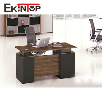 2018 Latest Office Table Design 1.2m Wooden Computer Table