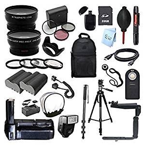 Deluxe (67MM) 24 Piece Accessory Bundle for Nikon D80 Digital SLR Camera (Fits standard 18-55mm, 50MM F18D, 35MMF/1.8G, 50MM F/1.4D, 55-200MM F/4-5.6G, 35MM F/2D, 85MM F/3.5G)
