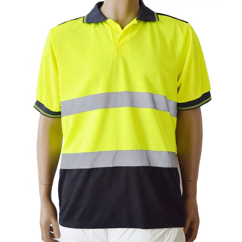 Security & Protection/Workplace <strong>Safety</strong> Supplies/<strong>Safety</strong> Clothing Men Women Construction Short Sleeve Polo <strong>safety</strong> Shirt