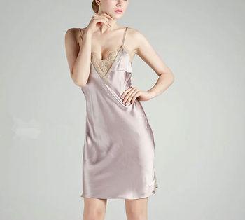 490de83593 Women Sexy Silk Elegant Bedroom Night Wear - Buy Night Wear