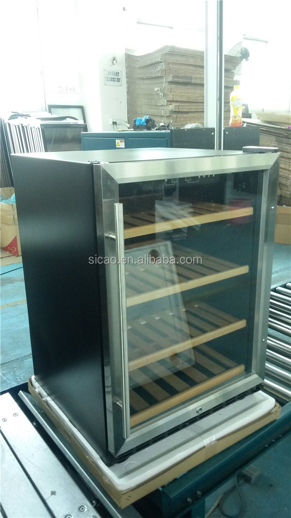 Under Counter Small Display Counter Fridge,Led Light Wine Cabinet ...