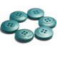 Newest material 4 hole rubber plastic button for garment