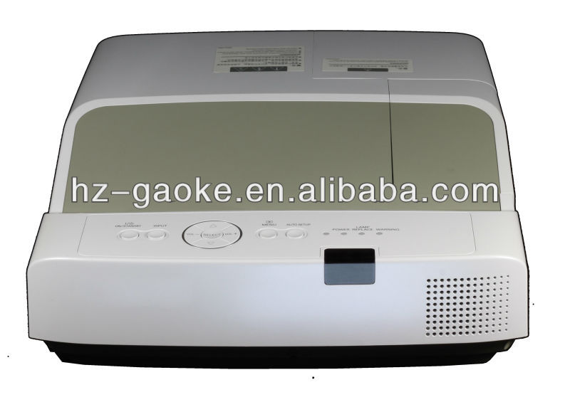 Best qualty Gaoke-RAC200 LCD 3100 lumens low cost education use ultra short throw video projector