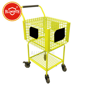 Tennis Ball Trolley with Divider, Ball Cart