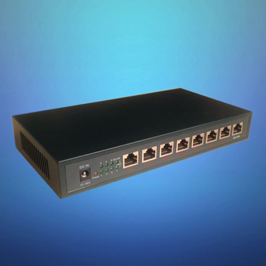 High Quality 8 Port ethernet Poe switch for enterprise