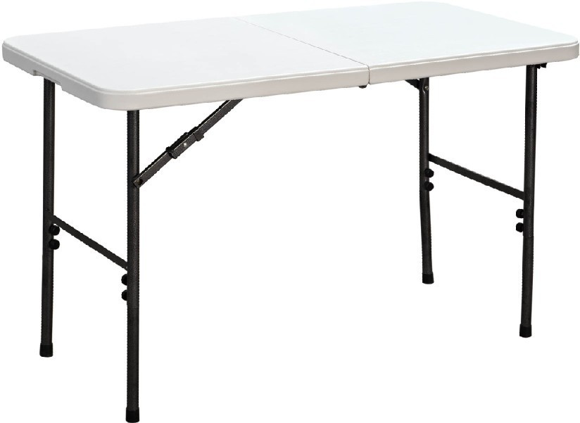 4 ft plastic picnic table white and chair durable plastic outdoor