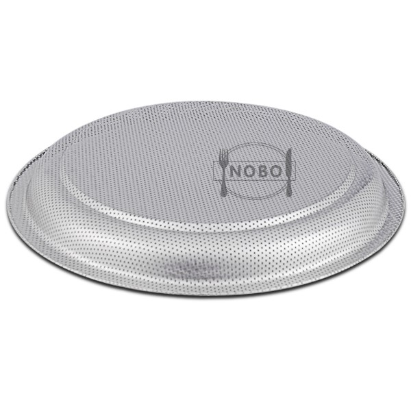 Thai perforated baking tray steamer plate