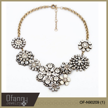 2014 fashion jewelry accessories wholesale chunky statement shourouk necklace in china