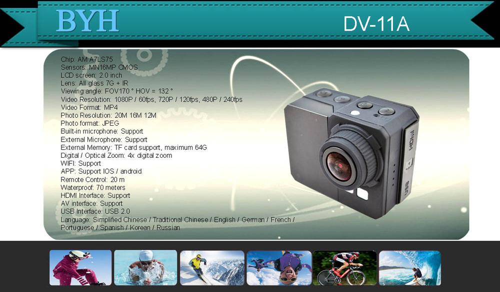 Factory Support Sj4000 Sj5000 Sj6000 Wifi Sport Action Camera ...