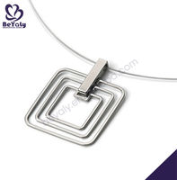 Christmas gift pendant jewelry stainless steal pendant trays