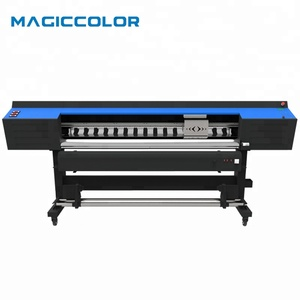 Cheaper Price Eco Solvent Printer With 2 Dx8 Heads Printing Outdoor