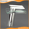 Popular European Design Wall Mounted Glass Waterfall Mixer