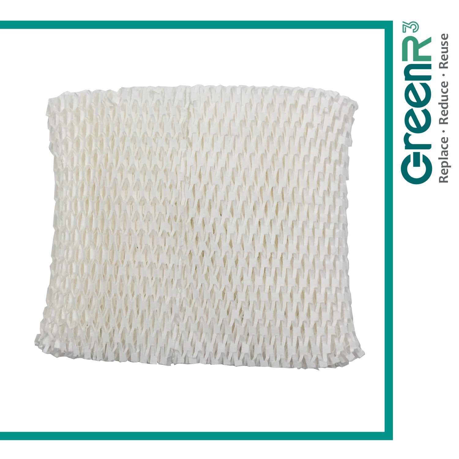 GreenR3 1-PACK Wick Filters Humidifiers For Honeywell HC-888 fits HCM890 HCM890C HCM890-20 HCM-890 HCM-890-C HCM-890-20 Duracraft DCM200 HCM890 DH888 DH890 DH890C AC-888 Best Air D88 and more