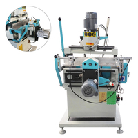 Aluminum Profile Double Head Copy Router Milling Machine For Window Door Making