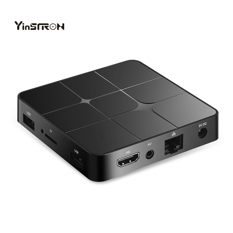 Di Vendita caldo Android TV Box T96 Mars 2/16 gb Amlogic S905W Smart TV Per Android 7.1 Box Bluetooth costruito in Set Top Box IPTV
